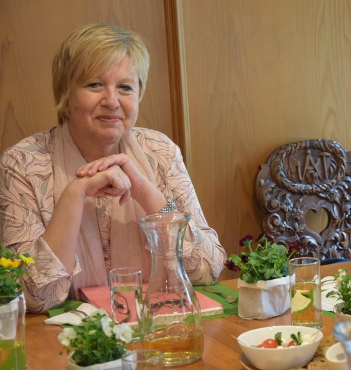 Das Foto zeigt Ursula Frei-Kocher.